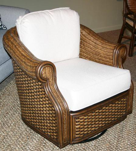 Rattan amp wicker recliners swivel rocking chairs