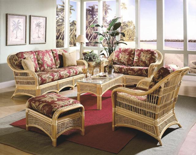 Wicker groupings for Casual chairs for sunroom