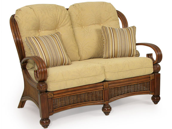 Wicker loveseats for Casual chairs for sunroom