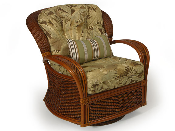 Wicker Recliners/Swivel Rocking Chairs