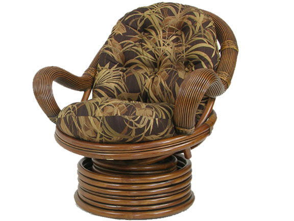 Rattan Swivel Rocker Chair Furniture | Free Home Design ...