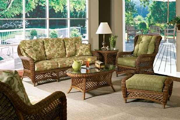 wicker groupings. Black Bedroom Furniture Sets. Home Design Ideas